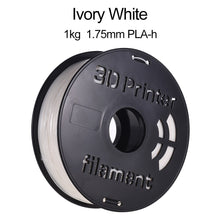 Load image into Gallery viewer, 1KG/ Spool PLA-h 3D Printer Filament 1.75mm Ivory White