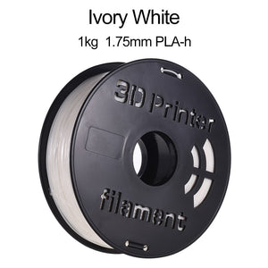 1KG/ Spool PLA-h 3D Printer Filament 1.75mm Ivory White