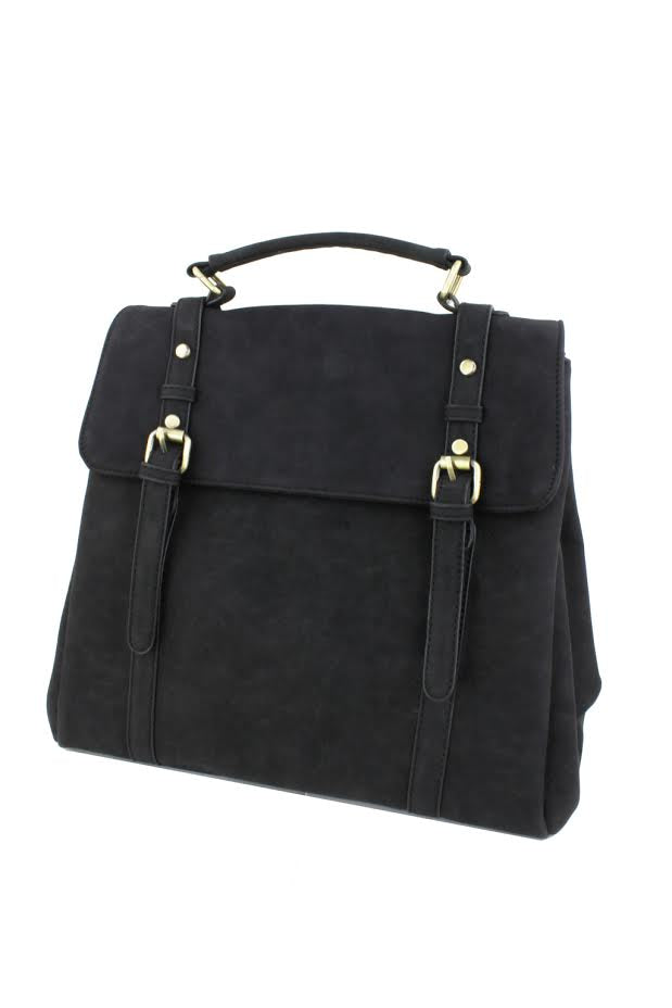 Convertible Backpack - Black