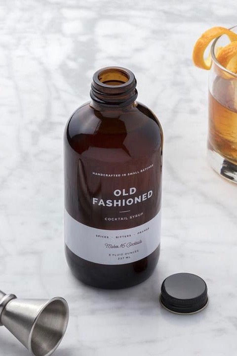 W&P Cocktail Syrup - Old Fashioned