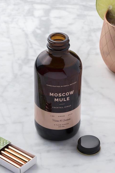 W&P Cocktail Syrup - Moscow Mule