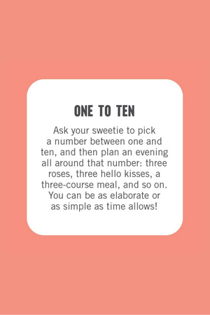 50 Sweet Things On A Date Game