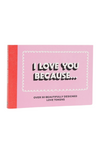 Love You Because Token Book
