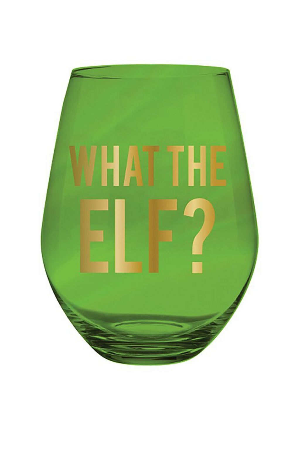 What The Elf Jumbo Wine Glass
