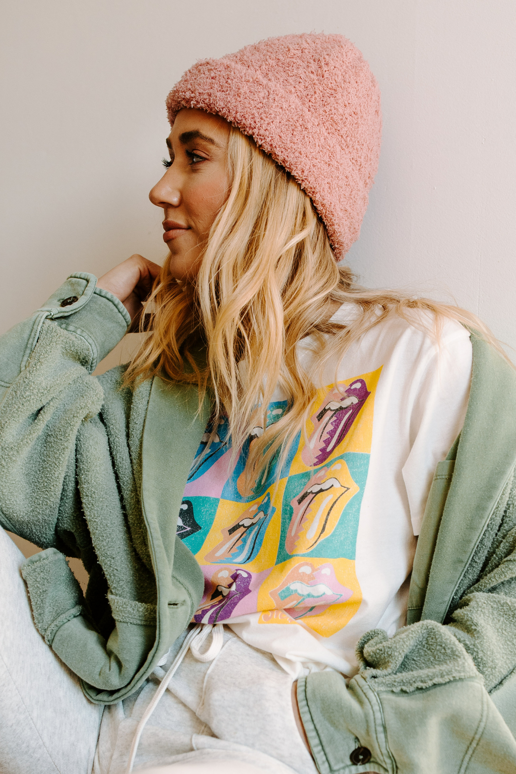 Free People Cloud Rib Beanie