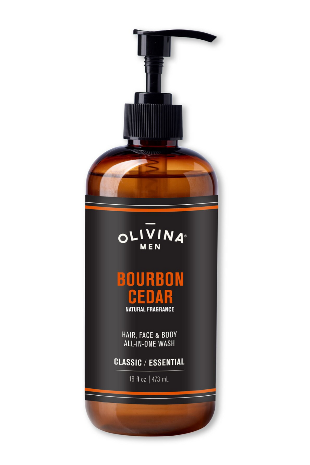 All-In-One Body Wash - Bourbon Cedar