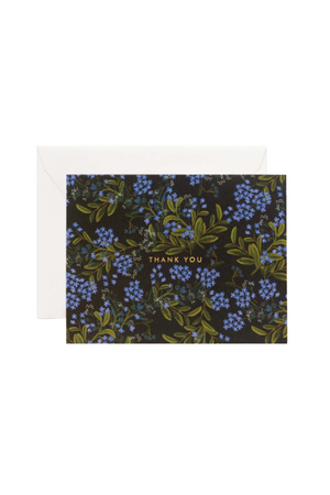 Cornflower Thank You Card