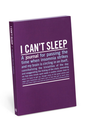 Knock Knock Mini Inner Truth Journal: I Can't Sleep