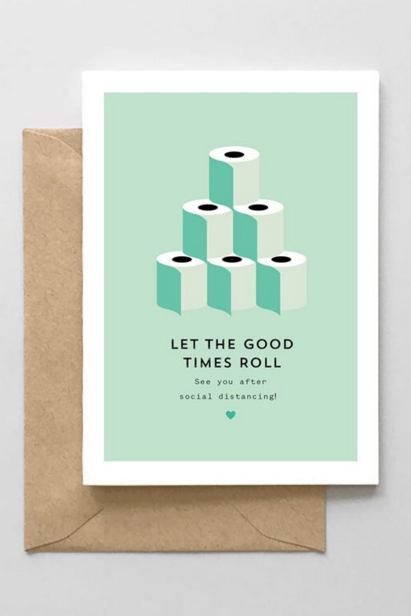 Let The Good Times Roll Card- Green