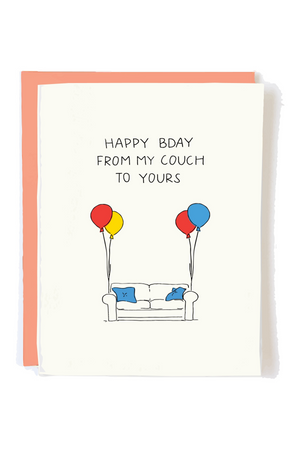 My Couch To Yours Greeting Card