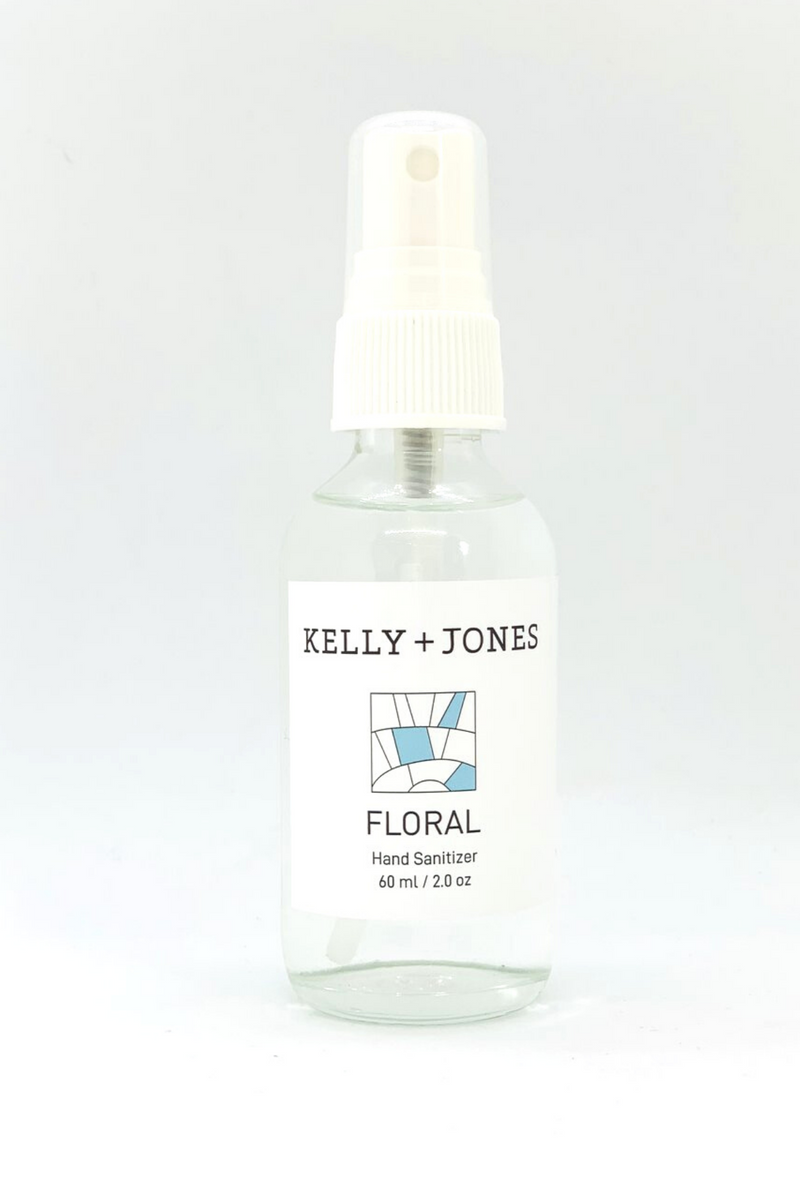 Kelly & Jones Floral Hand Sanitizer