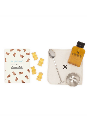 Carry On Cocktail Kit - Sugarfina Moscow Mule