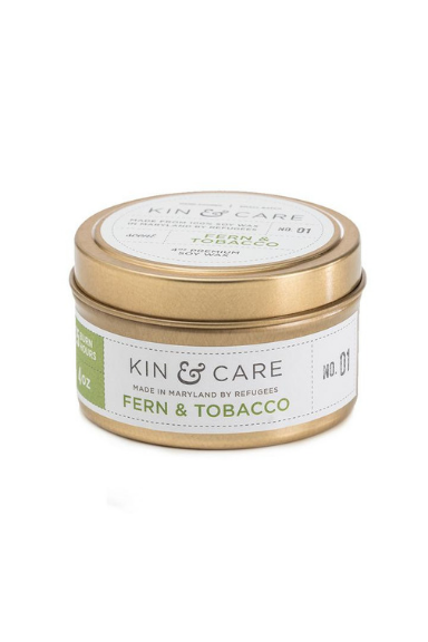 Kin & Care Tin Candle