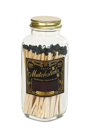 Vintage Match Bottle