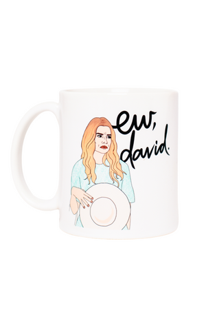 Schitt's Creek Ew David Mug