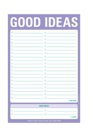 Knock Knock Good Ideas Pad