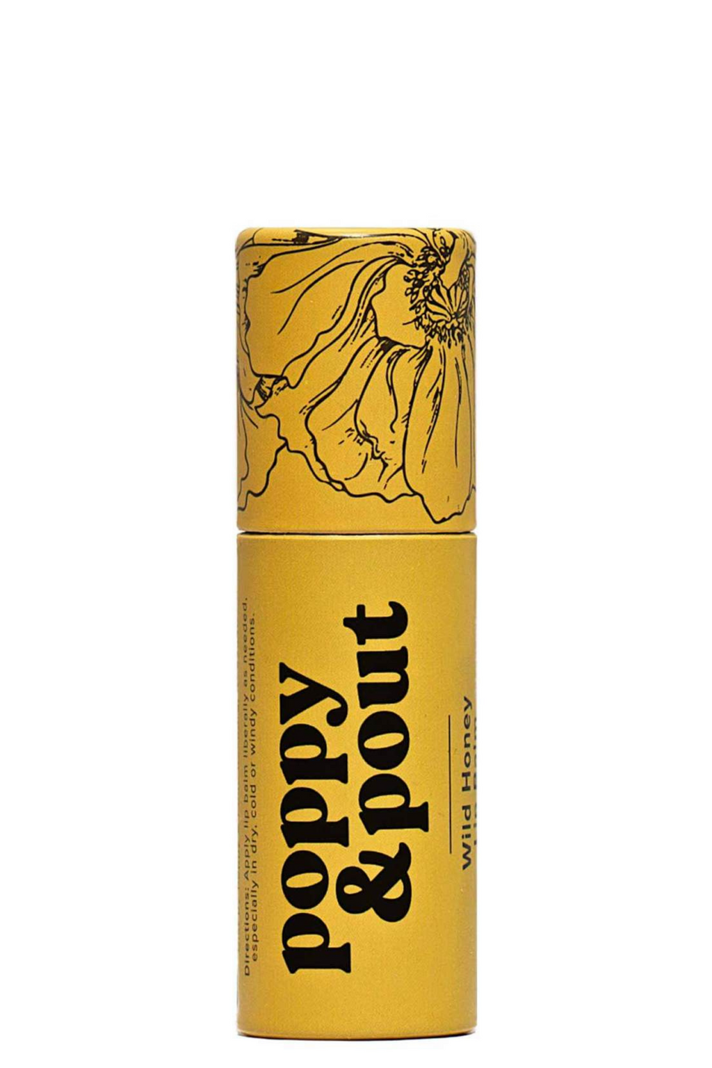 Poppy & Pout Wild Honey Lip Balm