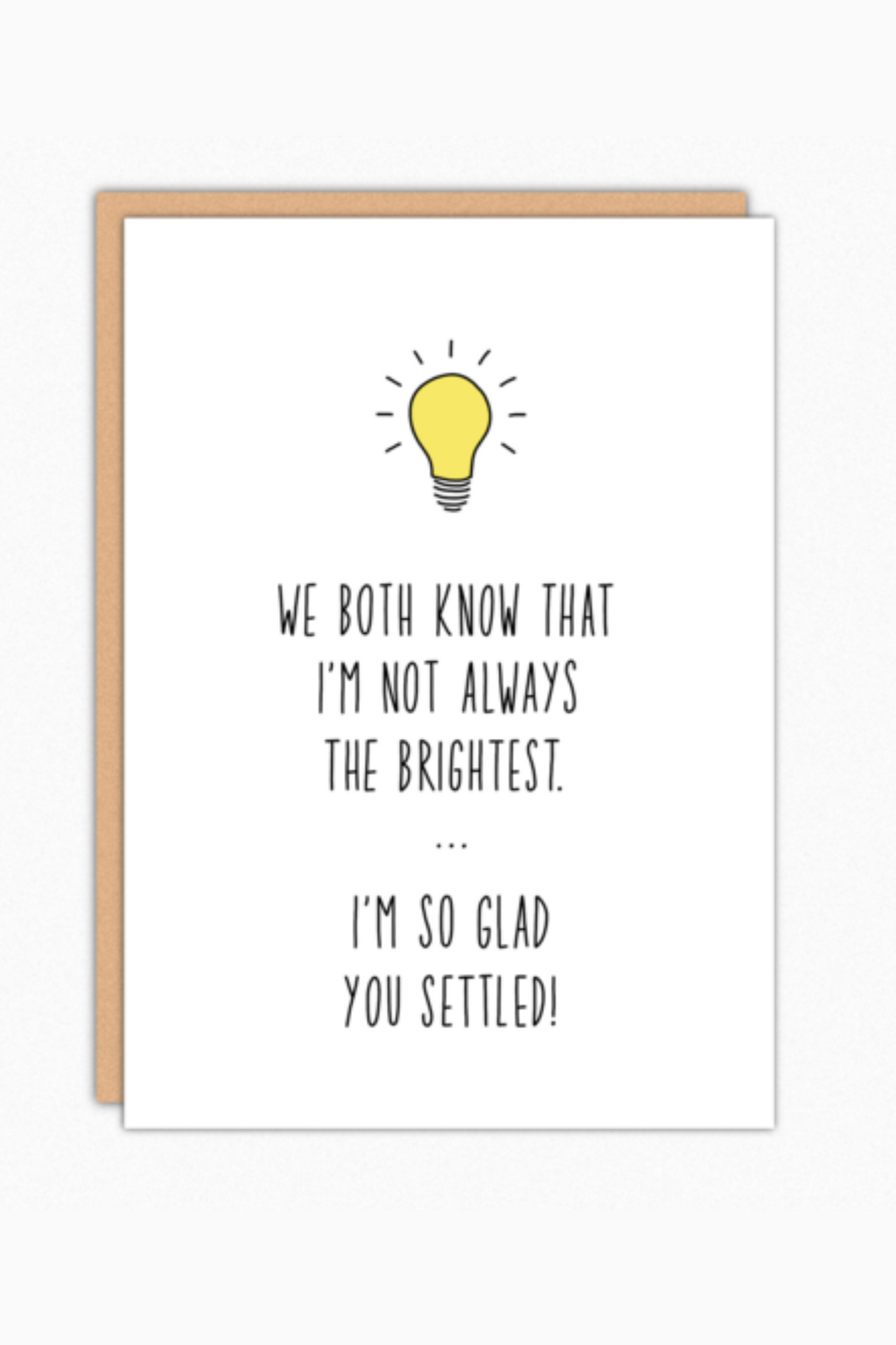 Brightest Greeting Card