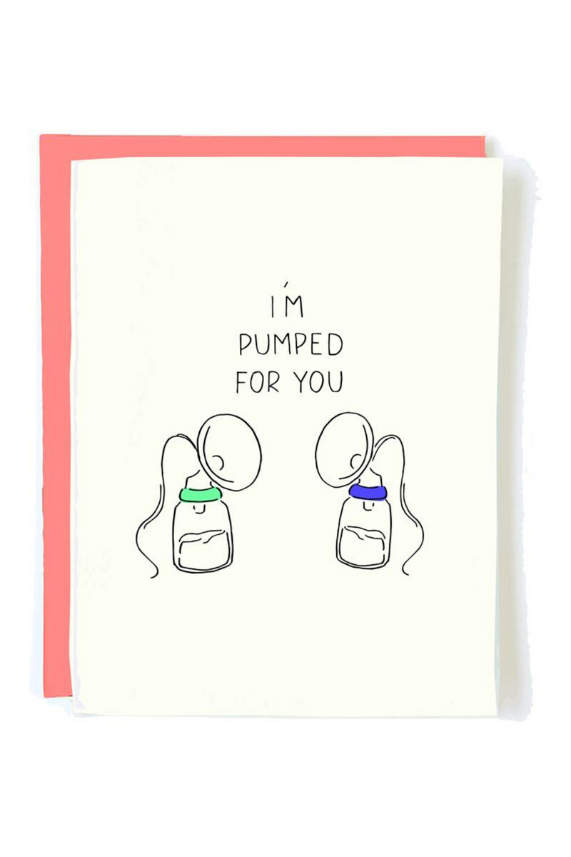 Pumped For You Greeting Card