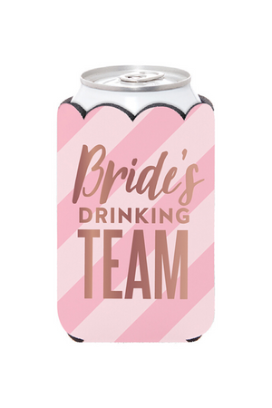 Bride's Drinking Team Can Cover