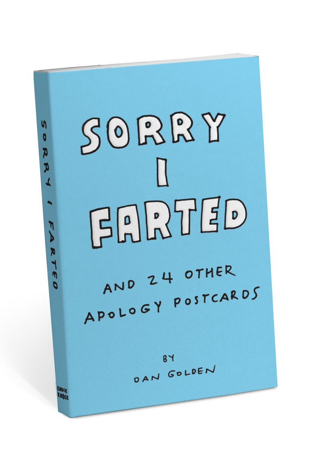 Knock Knock Sorry I Farted Apology Postcards