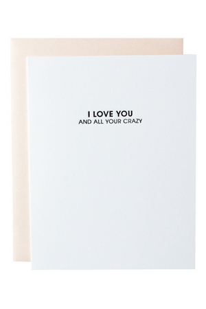 Love All Your Crazy Card