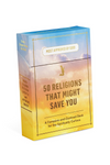 Knock Knock 50 Religions That Might Save You Deck