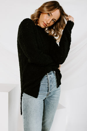 Hidden Places Popcorn Sweater