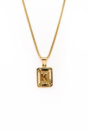 Catalina Initial Pendant Necklace