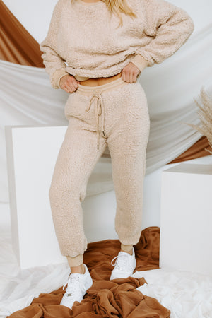 Off The Clock Sherpa Joggers