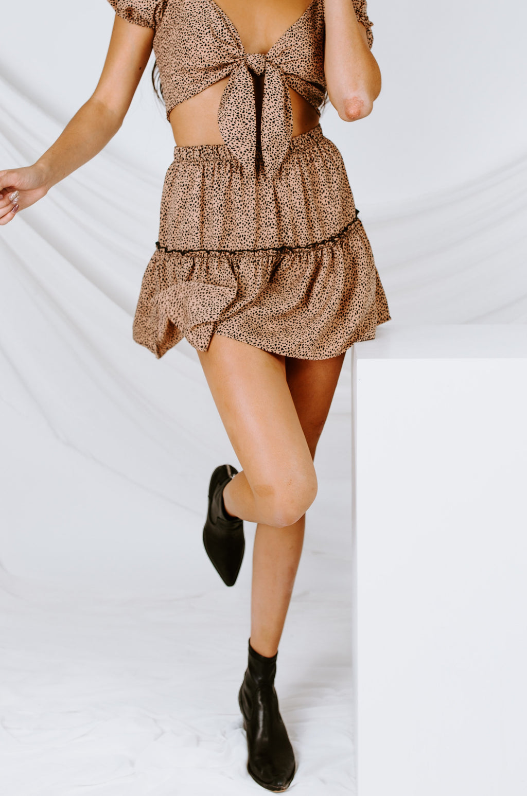 Still Mine Ruffle Skirt
