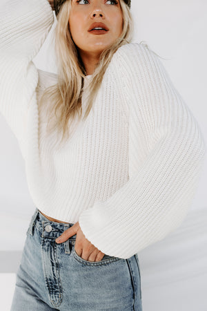Sweet Sunday Cropped Sweater