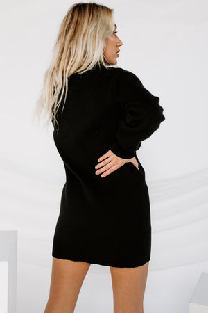 City Escape Sweater Dress