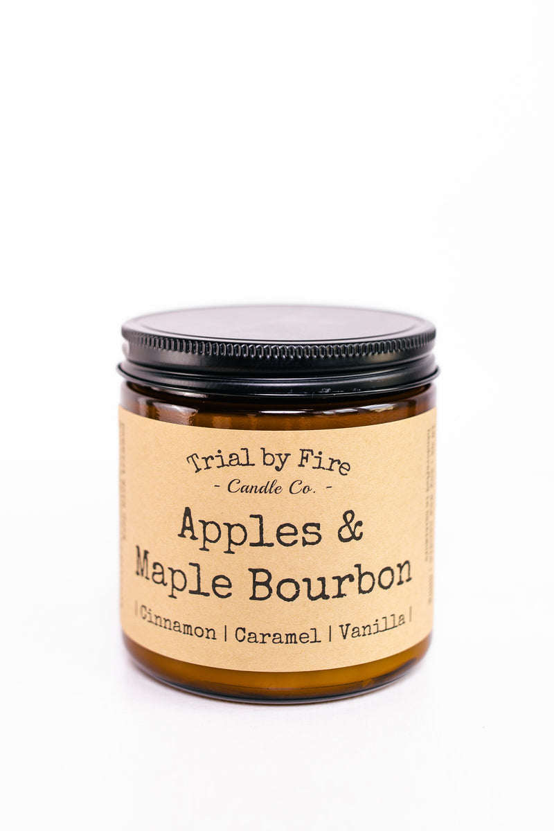Apples & Maple Bourbon 16oz. Candle