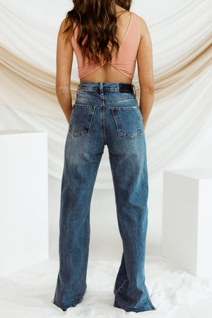 End Game Slit Jeans
