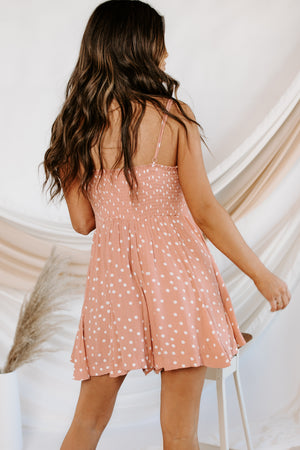 Lotta Love Polka Dot Romper