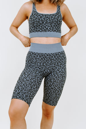 Dream Team Leopard Bike Short