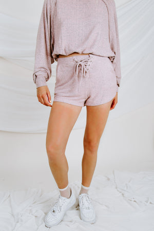 Into You Lace Up Short
