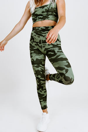 FP Movement High-Rise Good Karma Camo Leggings
