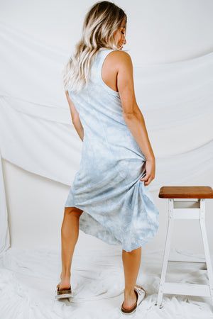 Z Supply Cloud Tie-Dye Reverie Dress