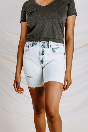 Kailey High Rise Bermuda Short