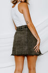 Free People Parker Wrap Skirt
