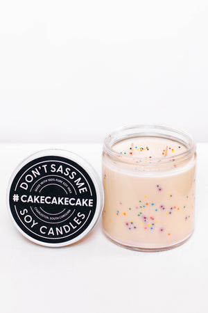 Don't Sass Me Soy Candle - CakeCakeCake