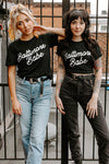 BRIGHTSIDE The Label Baltimore Babe Tee