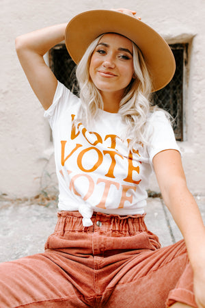 BRIGHTSIDE The Label Vote Tee