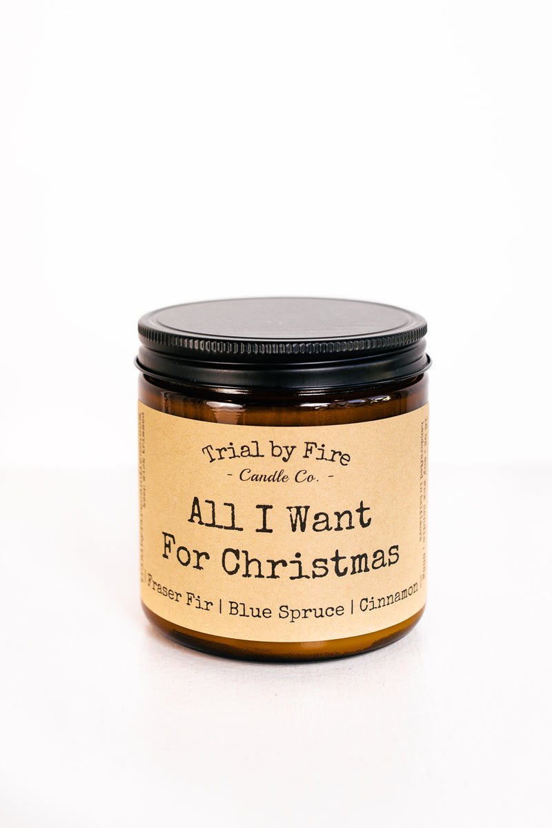 All I Want For Christmas 16oz. Candle