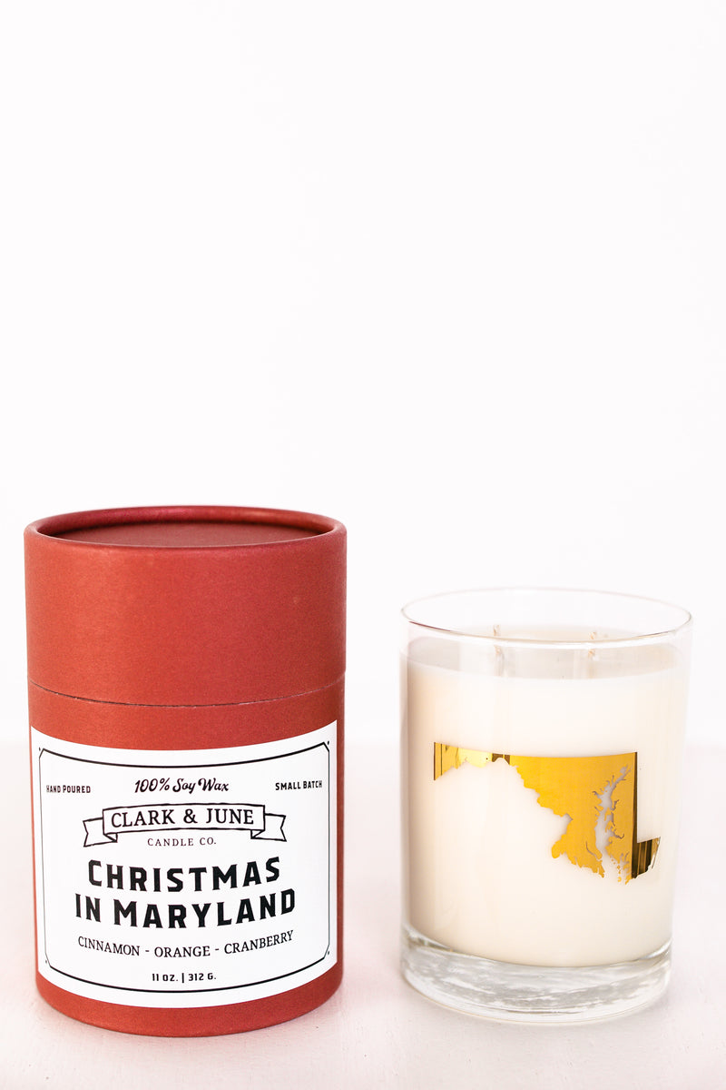 Clark & June Christmas In Maryland Candle