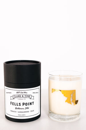 Clark & June Fells Point Candle