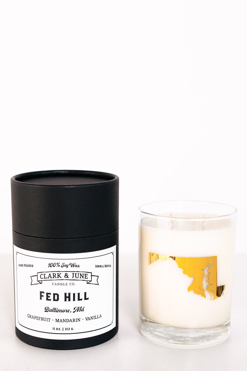 Clark & June Fed Hill Candle