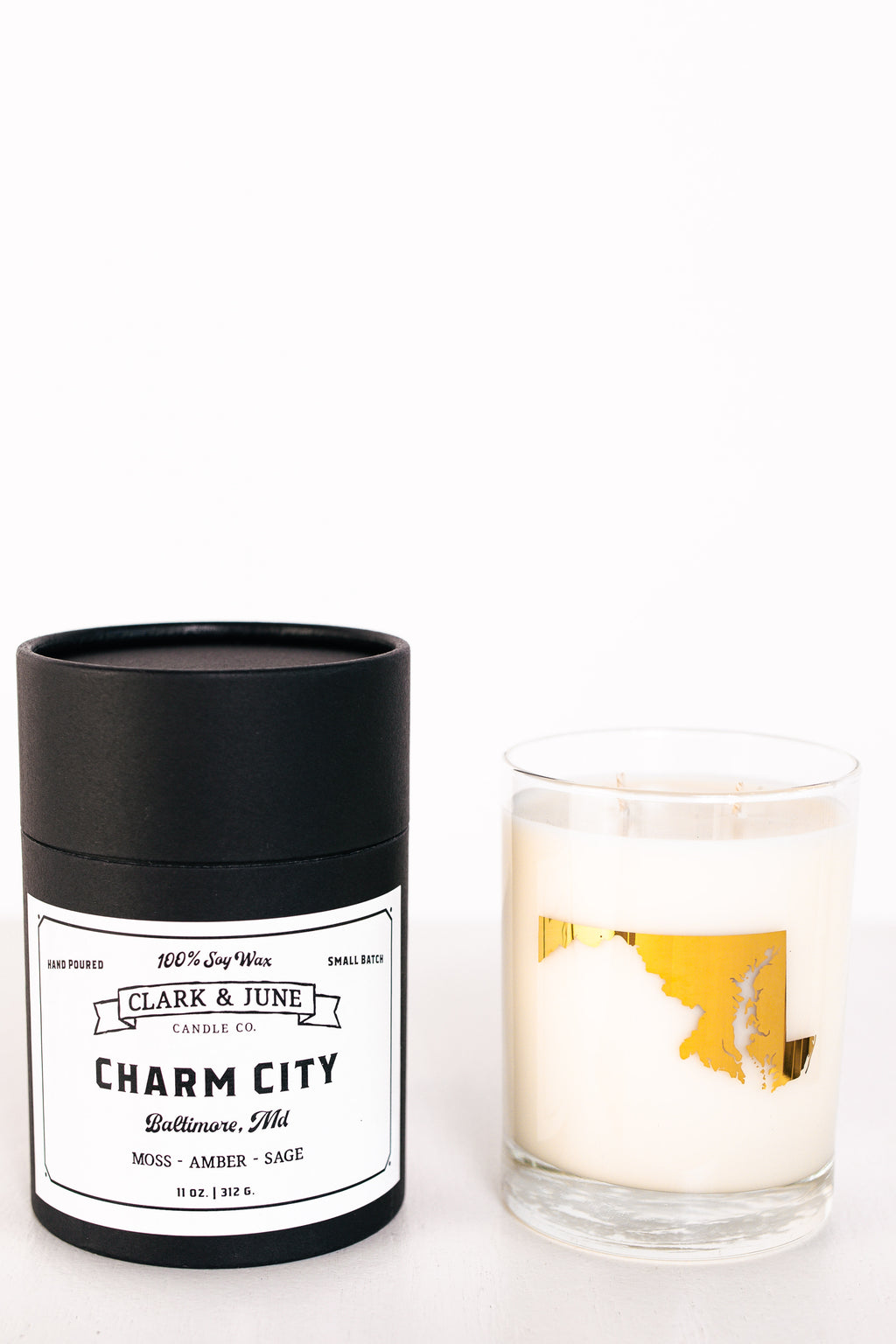 Clark & June Charm City Candle